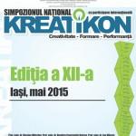 Anunț important! Simpozionul Naţional KREATIKON – Ediţia a XII-a se amana pentru luna mai